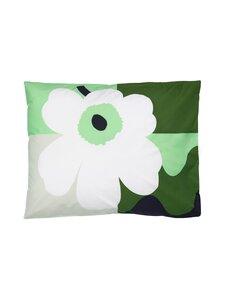Marimekko - CO-CREATED -tyynyliina 50 x 60 cm - 619 GREEN, WHITE | Stockmann