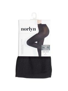 Norlyn - 3D Comfy 100 den -sukkahousut - BLACK (MUSTA) | Stockmann