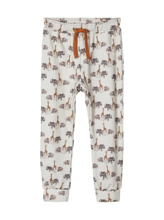 Lil' Atelier - NmmGeo Baggy Pant -housut - TURTLEDOVE | Stockmann - photo 1