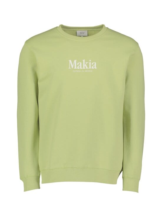 Makia - Strait-collegepaita - 715 GREEN LIGHT | Stockmann - photo 1
