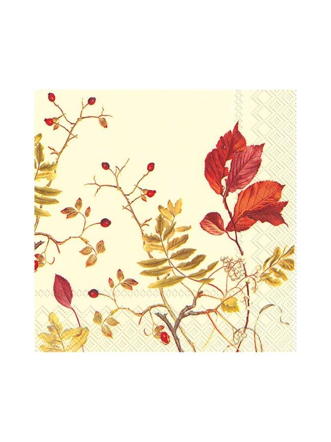 Fall Branches -servetti 25 x 25 cm