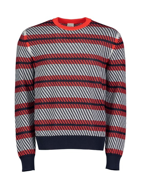 Paul Smith - Crew Neck Sweater -puuvillaneule - 25 RED | Stockmann - photo 1