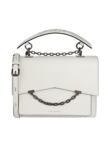 Karl Lagerfeld - K/Karl Seven Medium Shoulder Bag -nahkalaukku - WHITE A100   Stockmann