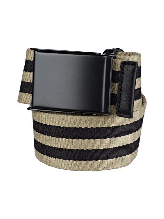 SDLR - Filipstad Striped Textile -vyö - 0317 BEIGE/BLACK   Stockmann - photo 1