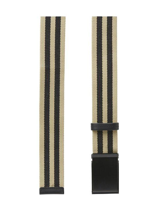 SDLR - Filipstad Striped Textile -vyö - 0317 BEIGE/BLACK   Stockmann - photo 2