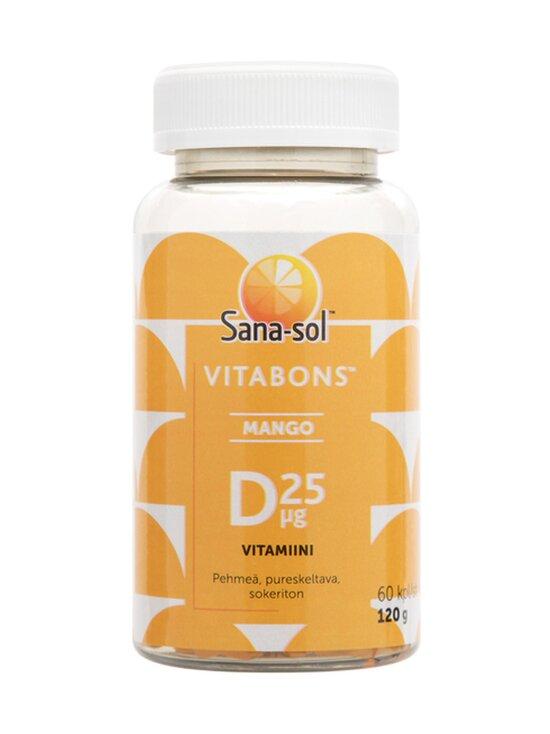 Sana-Sol - Sana-sol Vitabons Mango D-vitamiini -ravintolisä 60 kpl - VALKOINEN | Stockmann - photo 1