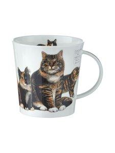 Dunoon - Cairngorm Cats & Kittens -muki 0,48 l - VALKOINEN/MUSTA | Stockmann