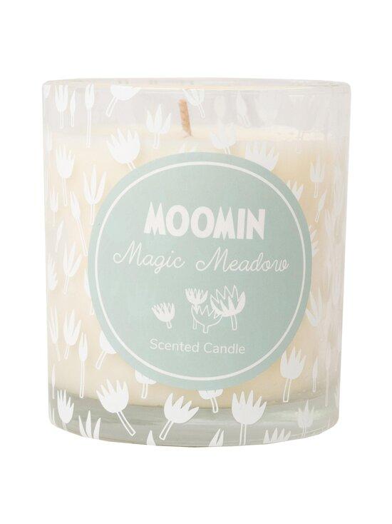 Moomin - Magic Meadow -tuoksukynttilä 8 x 9 cm - TURQUOISE | Stockmann - photo 1