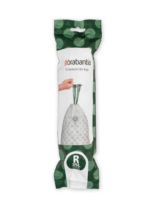 Brabantia - PerfectFit Bags R -roskapussit 36 l, 10 kpl - WHITE | Stockmann - photo 1