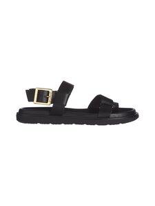 BIANCO - Biadebbie Leather Strap -nahkasandaalit - 100 BLACK   Stockmann