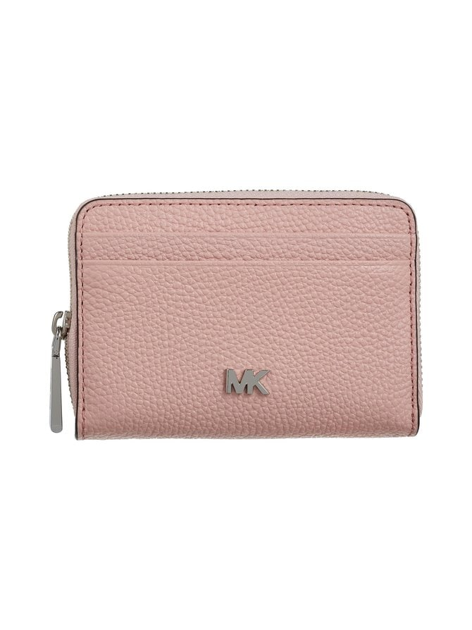Mott Zip Around Coin Card Case -nahkalompakko
