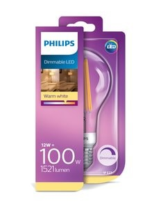 Philips - LEDClassic 12W (100W) A67 E27 -lamppu - KIRKAS   Stockmann