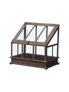 Wikholm Form - Ragna Greenhouse S -kasvihuone 31 x 20 x 30 cm - RUST | Stockmann