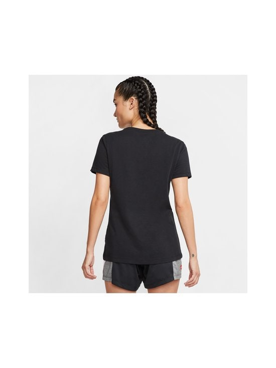 Nike - W Dry Tee -paita - BLACK/BLACK/HTR/WHITE | Stockmann - photo 4