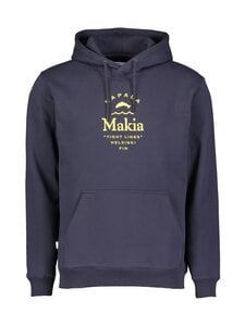 Makia - Makia x Rapala Cast Hooded Sweatshirt -huppari - M40003 DARK BLUE | Stockmann