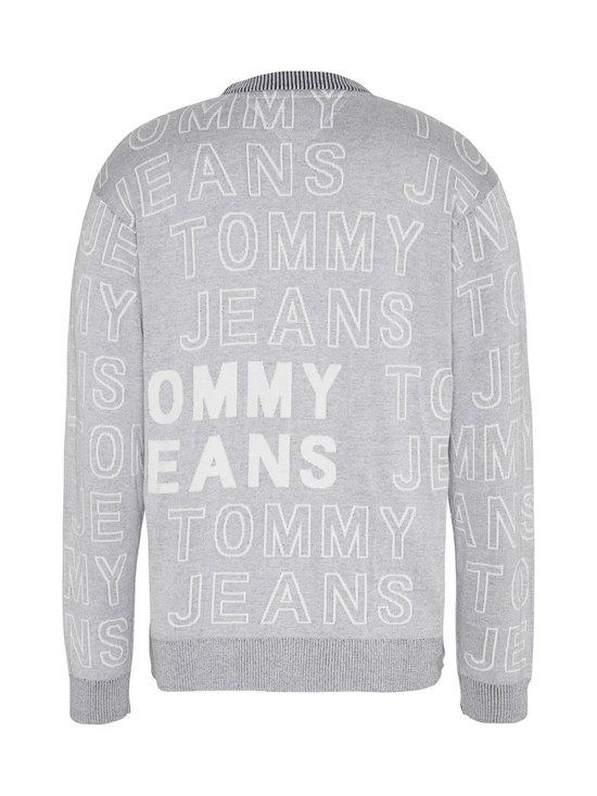 Tommy Jeans - Tjm Allover Logo -puuvillaneule - P01 LT GREY HTR | Stockmann - photo 2