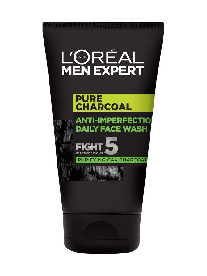 Men Expert Anti-Imperfection Daily Face Wash -puhdistusgeeli 100 ml