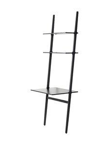Swedese - Libri-työpöytä 76 x 60 x 227 cm - BLACK | Stockmann