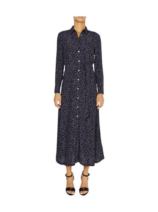 Tommy Hilfiger - All-Over Print Maxi Shirt Dress -mekko - 00P SML BRANDED DIAGONAL PRT DESERT SKY | Stockmann - photo 3