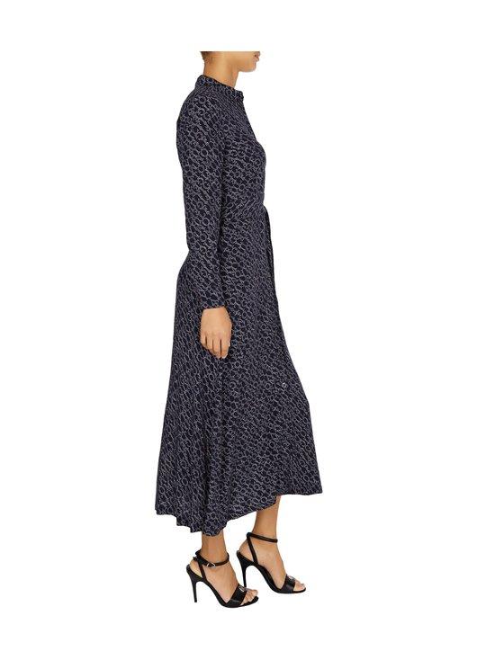 Tommy Hilfiger - All-Over Print Maxi Shirt Dress -mekko - 00P SML BRANDED DIAGONAL PRT DESERT SKY | Stockmann - photo 4
