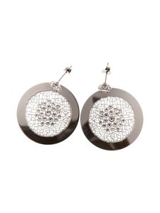 Dfj Collections - Sparkle Coin -korvakorut - SILVER | Stockmann
