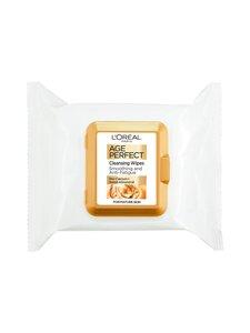 L'Oréal Paris - Age Pergfect cleansing wipes -puhdistusliinat 25kpl | Stockmann