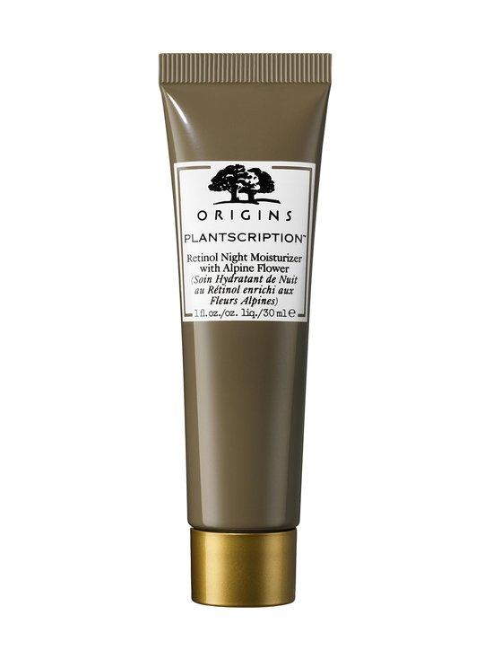 Origins - Plantscription™ Retinol Night Moisturizer with Alpine Flower -yövoide 30 ml - NOCOL | Stockmann - photo 1