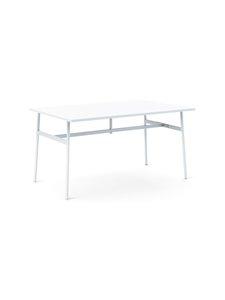 Normann Copenhagen - Union-pöytä 140 x 90 cm - VALKOINEN | Stockmann