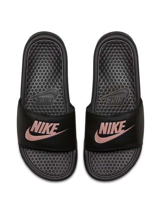 Nike - Benassi Just Do It -sandaalit - BLACK/ROSE GOLD   Stockmann - photo 2