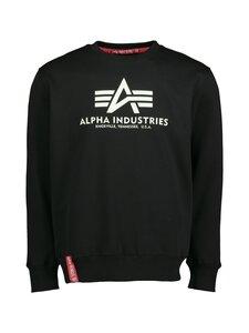 Alpha Industries - Basic Kryptonite Sweater -collegepaita - 03 BLACK | Stockmann