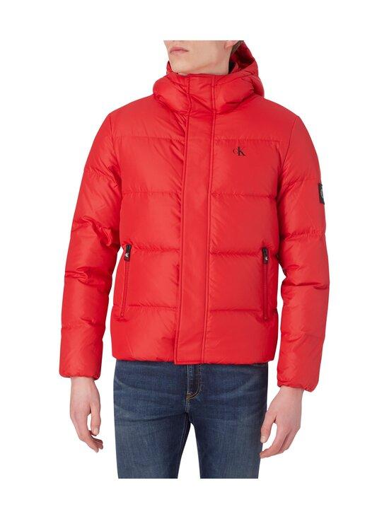 Calvin Klein Jeans - Hooded Down Puffer Jacket -untuvatakki - XME RED HOT | Stockmann - photo 3
