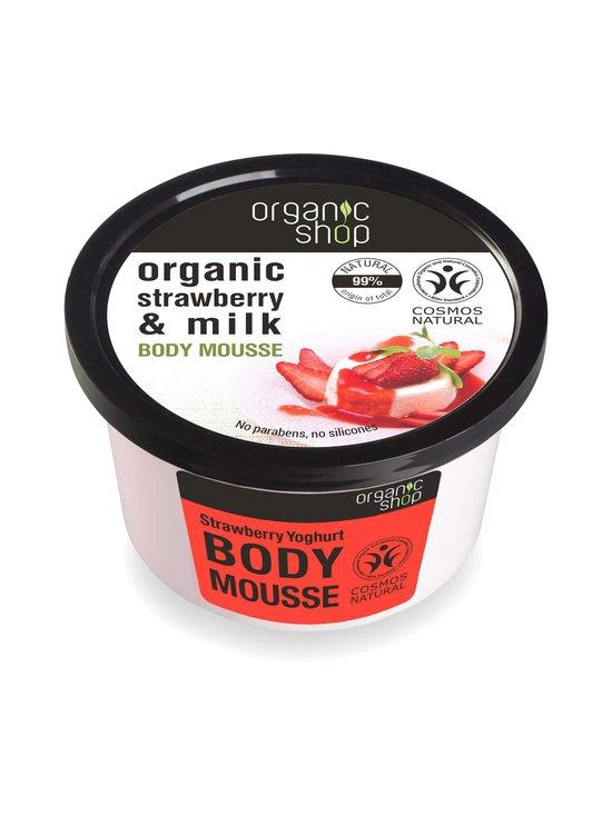 Organic Shop - Strawberry Yogurt -vartalomousse 250 ml   Stockmann - photo 1