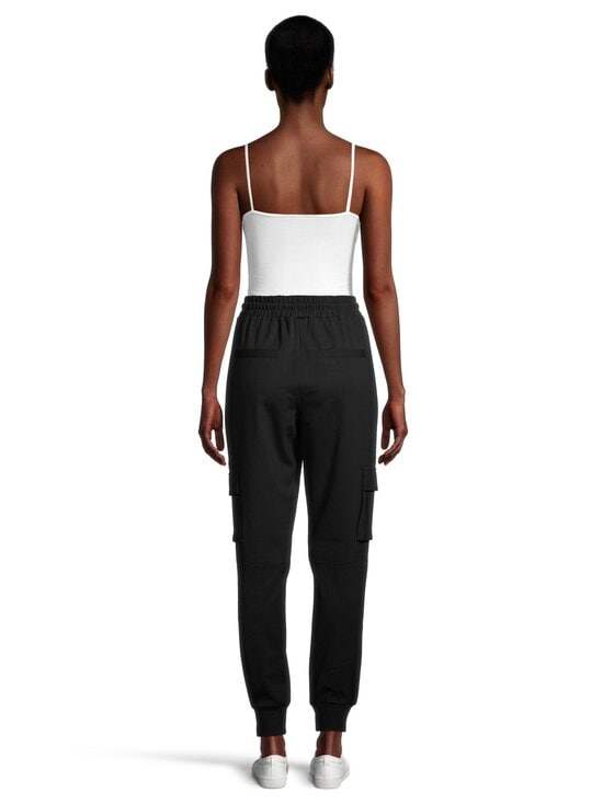 Noisy may - NmPalma High Waist Pants -housut - BLACK | Stockmann - photo 3