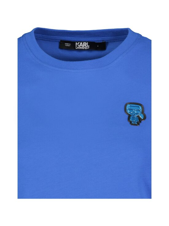 Karl Lagerfeld - Karl Patch T-shirt -paita - PRINCESS BLUE | Stockmann - photo 3