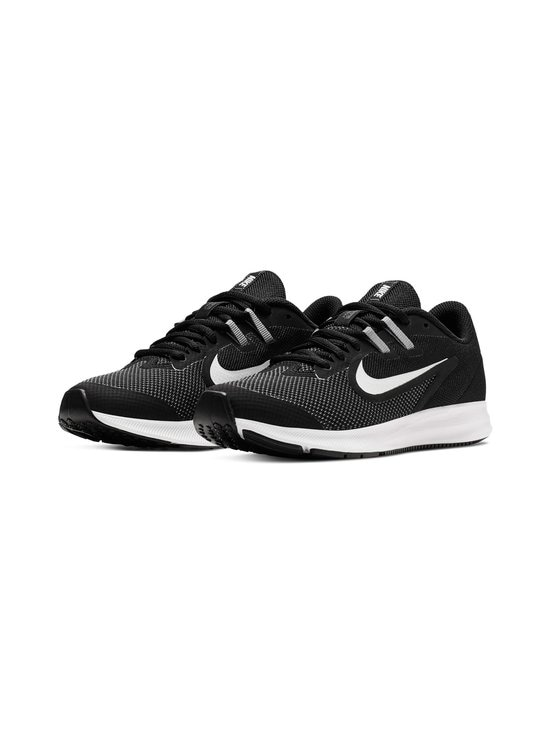 Nike - Nike Downshifter 9 -sneakerit - BLACK/WHITE/ANTHRACITE/COOL GREY | Stockmann - photo 4