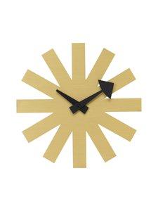 Vitra - Asterisk Clock -seinäkello 25 cm - BRASS | Stockmann