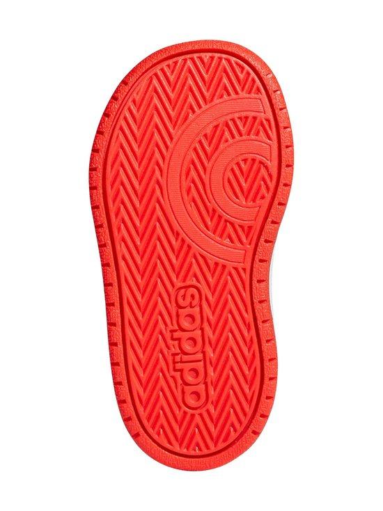 adidas Performance - Hoops 2.0 -kengät - CORE BLACK / CLOUD WHITE / HI-RES RED | Stockmann - photo 3