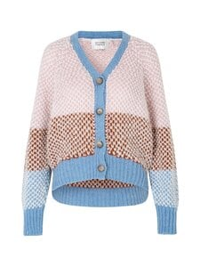 SECOND FEMALE - Berthe Knit Cardigan -neuletakki - 3076 LIGHT MAHAGONY | Stockmann