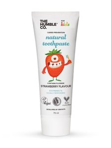 Humble Brush - Kids Natural Toothpaste Strawberry -hammastahna 75 ml - null | Stockmann