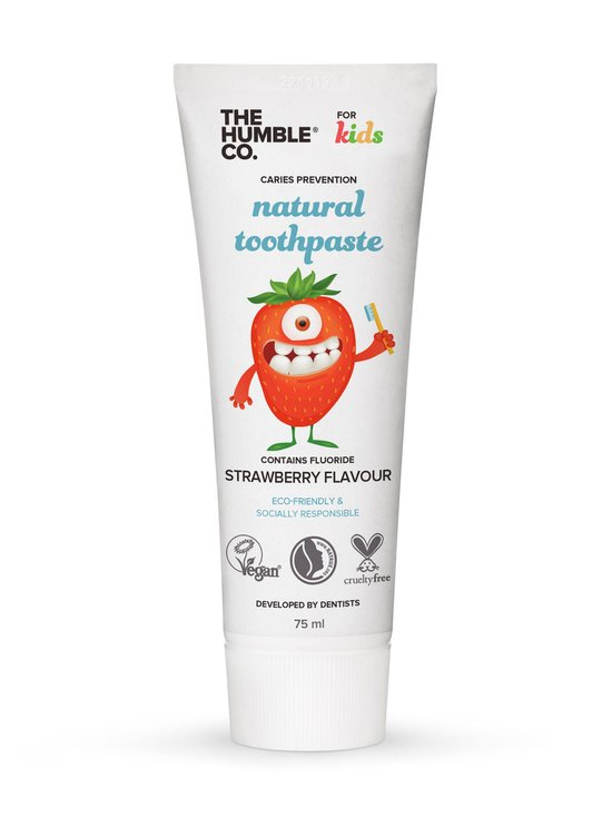 Humble Brush - Kids Natural Toothpaste Strawberry -hammastahna 75 ml - NOCOL   Stockmann - photo 1