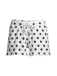 NOOM loungewear - Usha-shortsit - WHITE/BLACK DOT | Stockmann