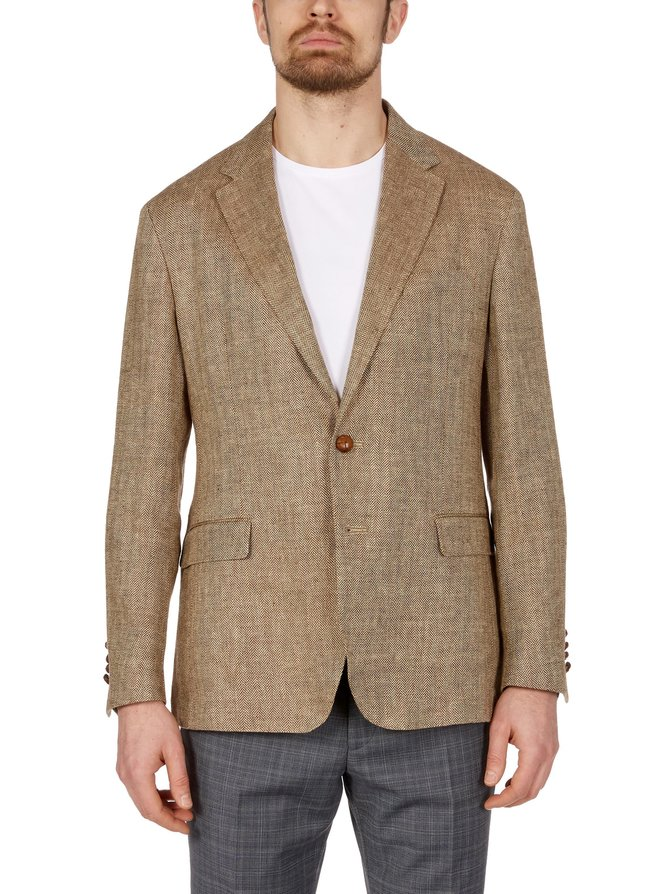 Herringbone Sport Coat -pellavableiseri