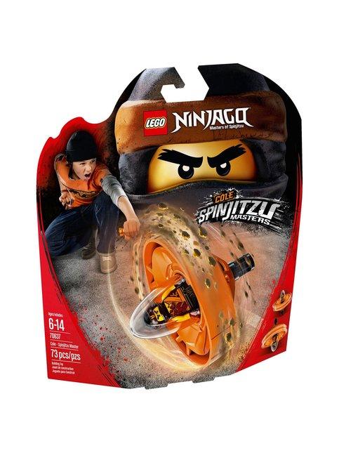 LEGO Cole – spinjitzu-mestari