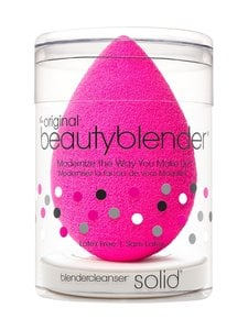 Beautyblender - Original Single -meikkisieni + Mini Solid Cleanser -saippua - null | Stockmann