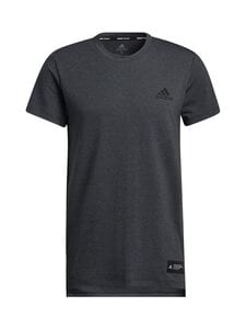 adidas Performance - Studio Tech Tee -paita - BLCKME BLACK MELANGE | Stockmann