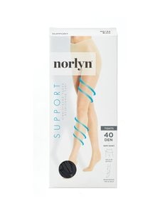 Norlyn - Support 40 den -tukisukkahousut - BLACK | Stockmann