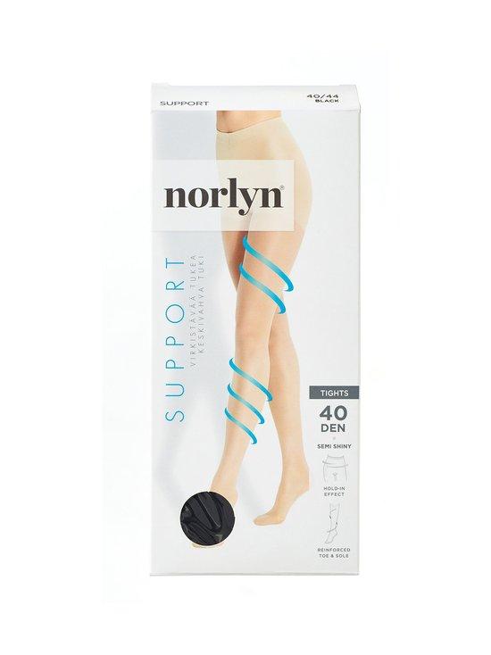 Norlyn - Support 40 den -tukisukkahousut - BLACK | Stockmann - photo 1
