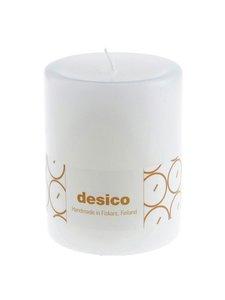 Desico - Pöytäkynttilä 100 mm - WHITE | Stockmann