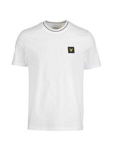 Lyle & Scott - Tipped T-shirt -paita - 626 WHITE | Stockmann
