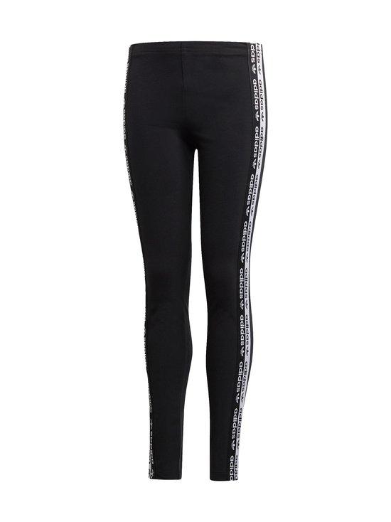 adidas Originals - Logo Tape -leggingsit - BLACK   Stockmann - photo 1
